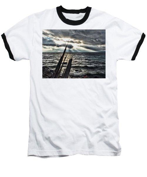 Heavenly Beams Baseball T-Shirt