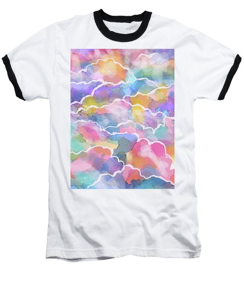 Heavenly Clouds Baseball T-Shirt