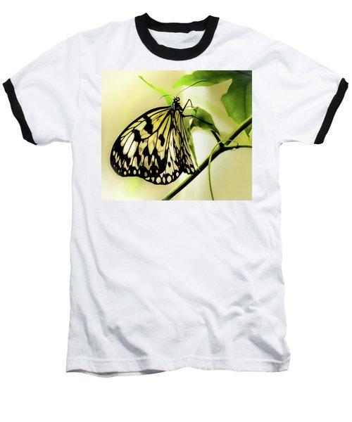 Heaven's Door Hath Opened Baseball T-Shirt by Karen Wiles