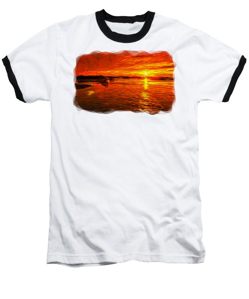 Heavens Of Fire 2 Baseball T-Shirt