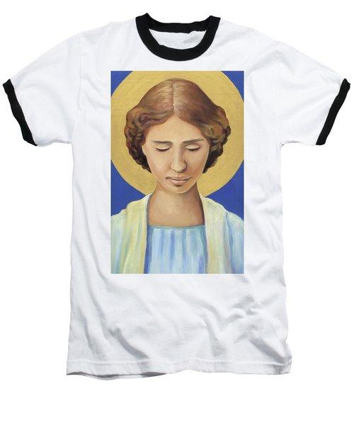 Helen Keller Baseball T-Shirt