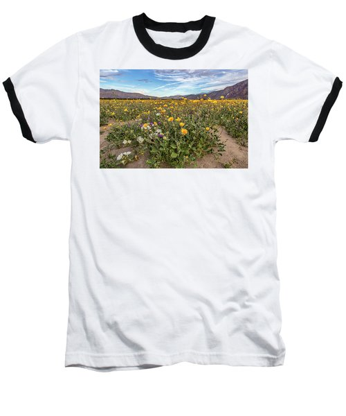 Baseball T-Shirt featuring the photograph Henderson Canyon Super Bloom by Peter Tellone