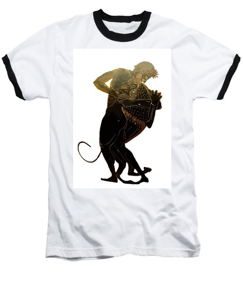 Hercules And The Nemean Lion Baseball T-Shirt