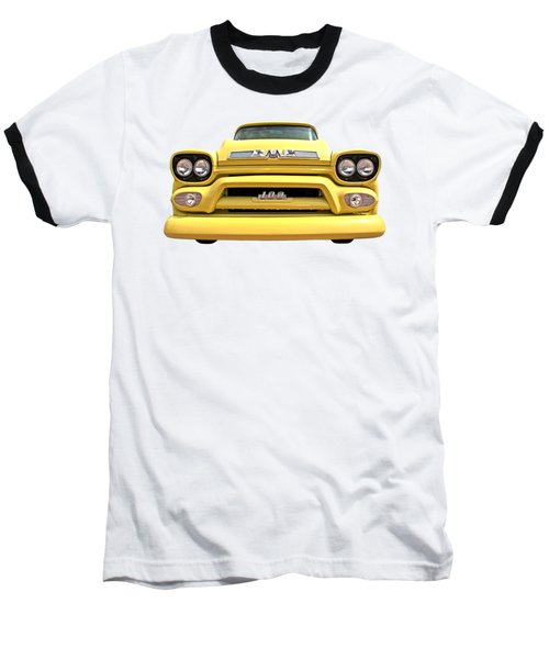 Here Comes The Sun - Gmc 100 Pickup 1958 Baseball T-Shirt