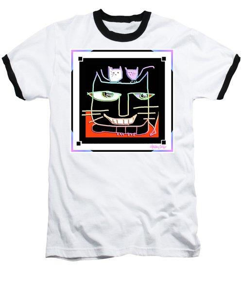 Here,  Kitty Kitty Baseball T-Shirt