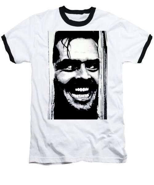 Heres Johnny Baseball T-Shirt