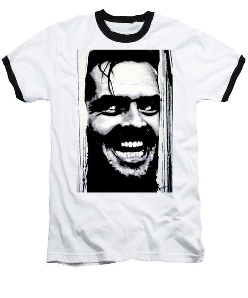 Heres Johnny Baseball T-Shirt