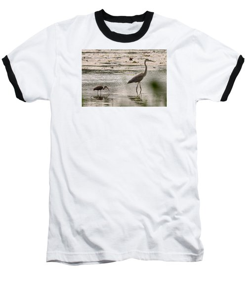 Heron And Ibis Baseball T-Shirt