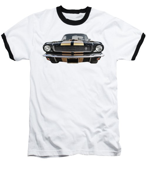 Baseball T-Shirt featuring the photograph Hertz Rent A Racer Mustang 1966 by Gill Billington