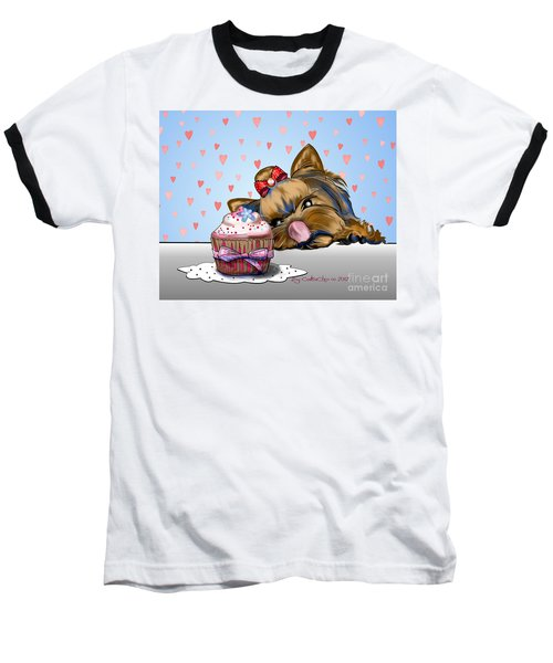 Hey There Cupcake Baseball T-Shirt
