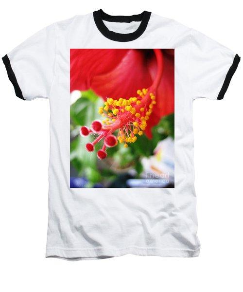 Hibiscus #3 Baseball T-Shirt