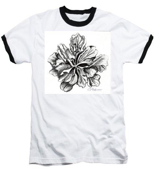 Hibiscus Bloom Baseball T-Shirt