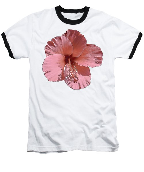 Hibiscus  Flower  Baseball T-Shirt