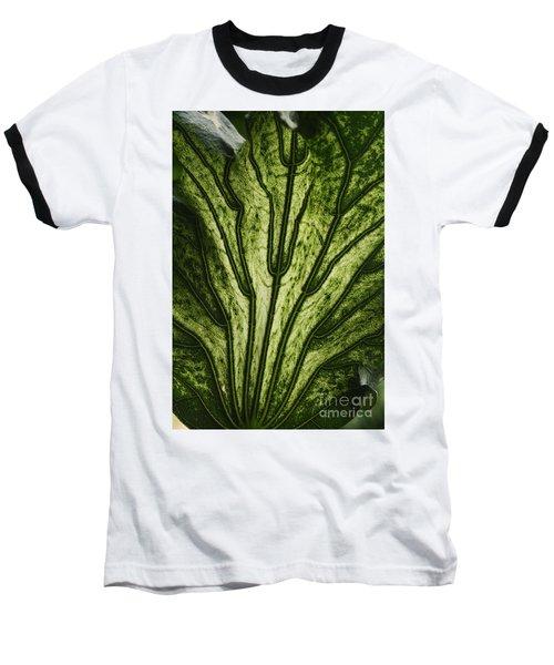 Hibiscus Tiliaceus Variegata 2 Baseball T-Shirt