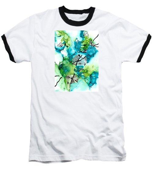 Hidden Treasure Baseball T-Shirt by Jan Steinle