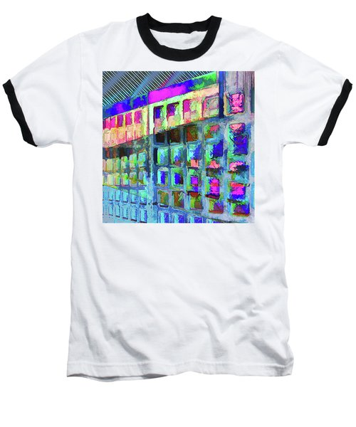 Baseball T-Shirt featuring the digital art Hide And Seek by Wendy J St Christopher