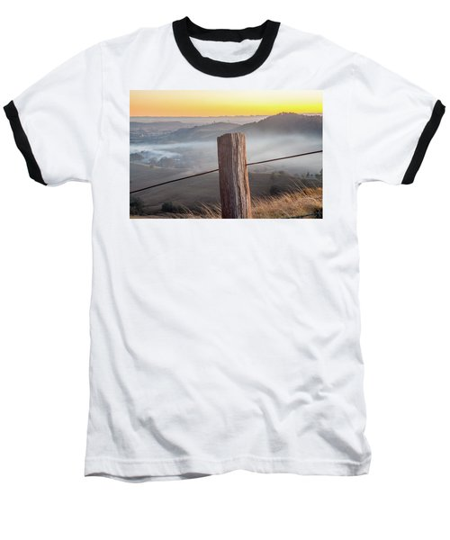 Baseball T-Shirt featuring the photograph High Country by Az Jackson