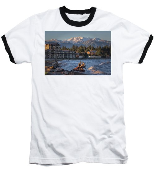 High Tide In The Bay Baseball T-Shirt