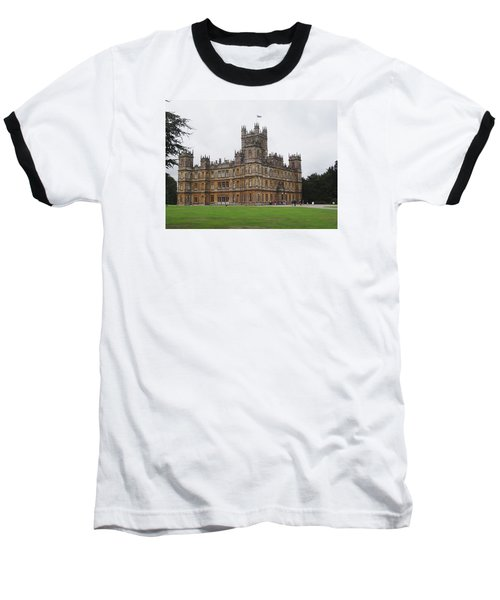 Highclere Castle Baseball T-Shirt