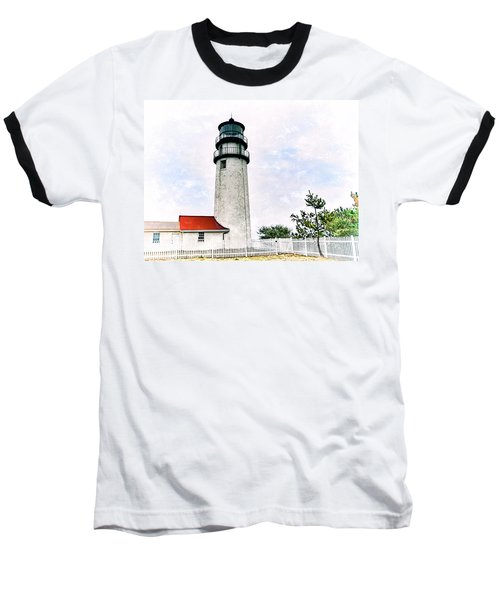 Baseball T-Shirt featuring the photograph Highland Lighthouse Cape Cod by Marianne Campolongo