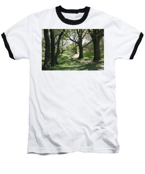 Hill 60 Cratered Landscape Baseball T-Shirt