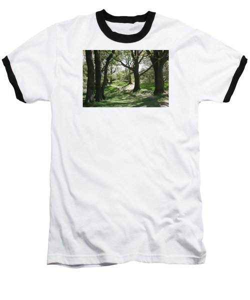 Hill 60 Cratered Landscape Baseball T-Shirt