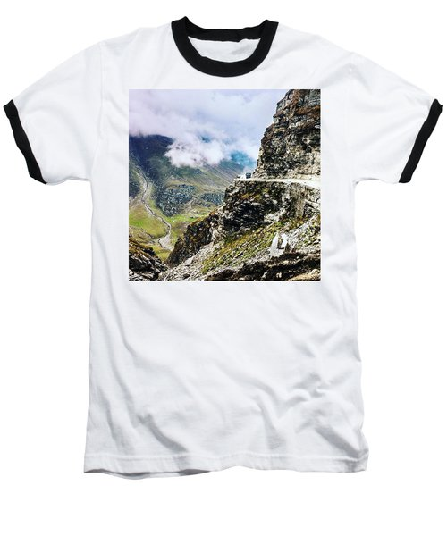 Himalayan Roads Are Good For Your Baseball T-Shirt