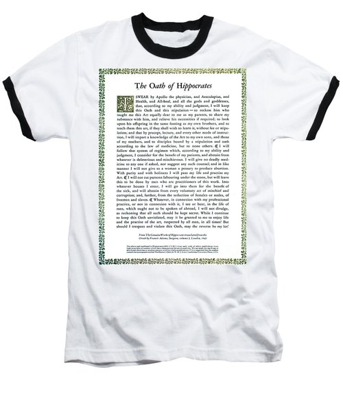 Hippocratic Oath, 1938 Baseball T-Shirt