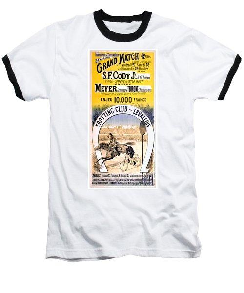 Hippodrome Du Trotting Club Levallois Baseball T-Shirt
