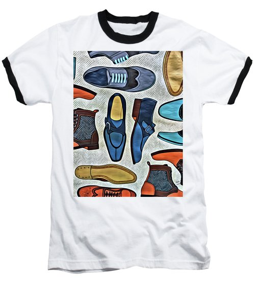 His Shoes Baseball T-Shirt