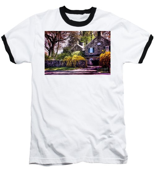 Baseball T-Shirt featuring the photograph Historic 1889 Home by Polly Peacock