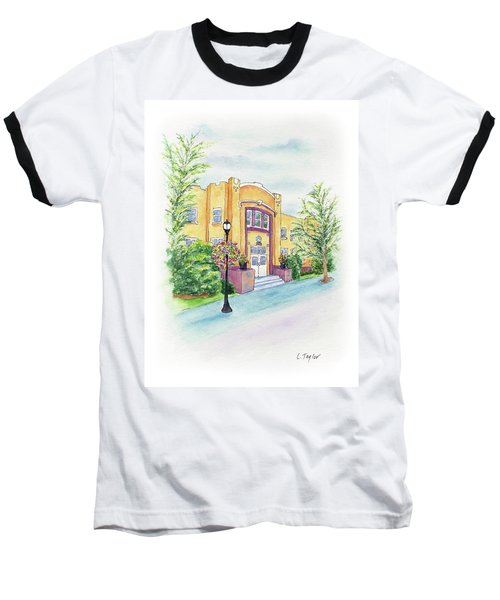 Historic Armory Baseball T-Shirt