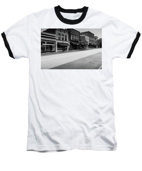 Historic Buford Downtown Area Baseball T-Shirt