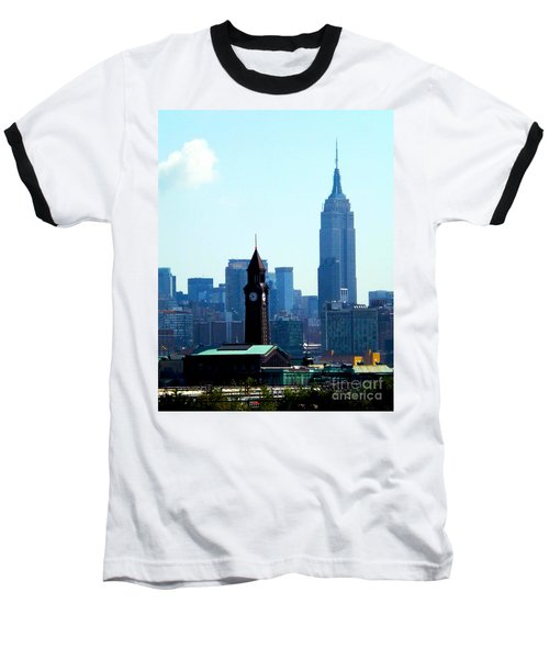 Hoboken And New York Baseball T-Shirt