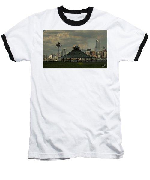 Hoboken, Nj -pier A Park Gazebo Baseball T-Shirt