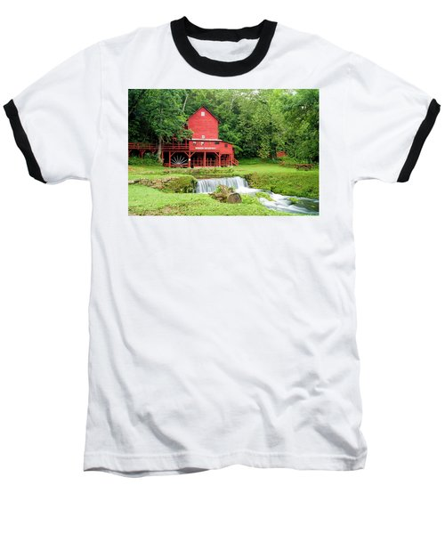 Hodgson Water Mill Baseball T-Shirt
