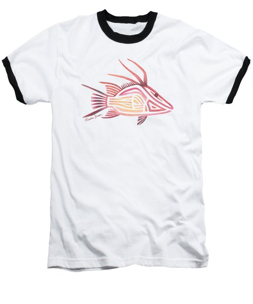 Hogfish Baseball T-Shirt