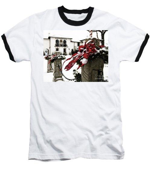 Holiday Home Baseball T-Shirt