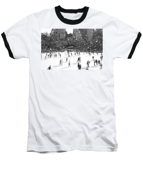 Holiday Skaters Baseball T-Shirt