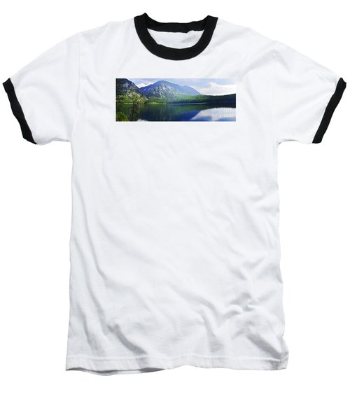 Baseball T-Shirt featuring the photograph Holland Lake Panoramic View by Janie Johnson