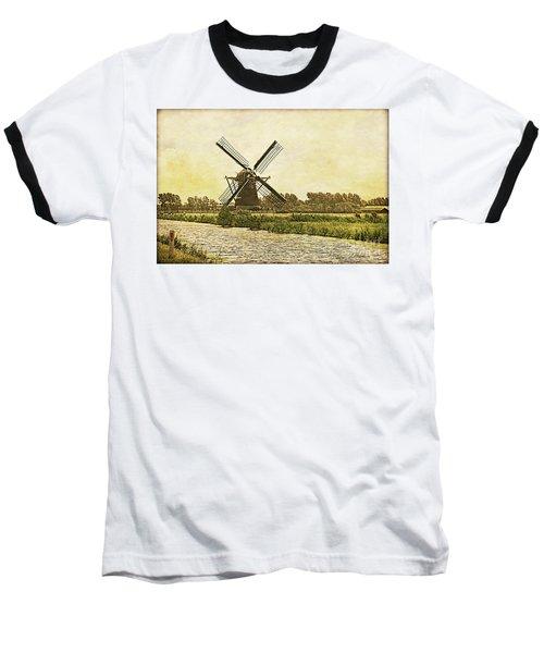 Holland - Windmill Baseball T-Shirt