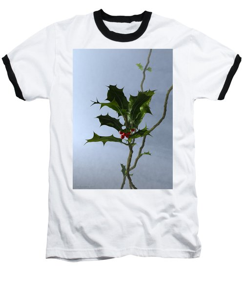 Holly Baseball T-Shirt