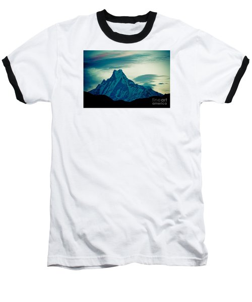 Holy Mount Fish Tail Machhapuchare 6998m Baseball T-Shirt