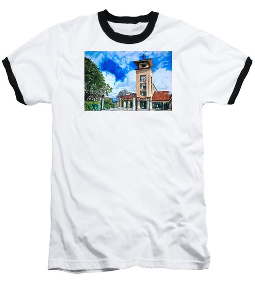 Baseball T-Shirt featuring the painting Holy Trinity by Lance Gebhardt