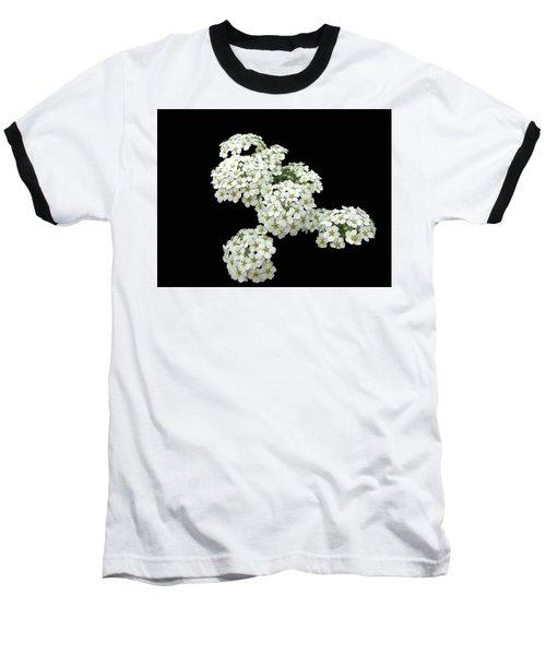 Home Grown White Flowers  Baseball T-Shirt