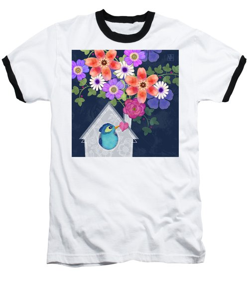 Home Is Where You Bloom Baseball T-Shirt