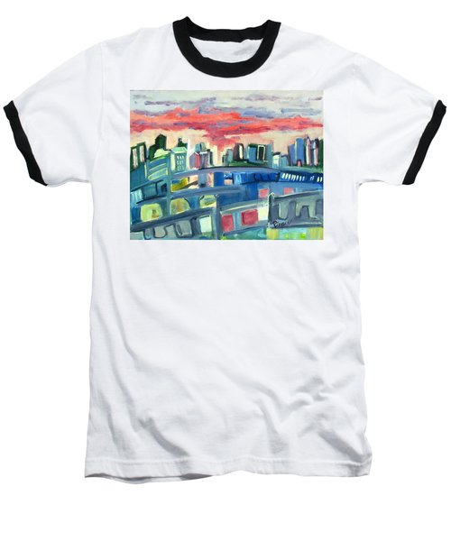 Home To The Softer Side Of City Baseball T-Shirt