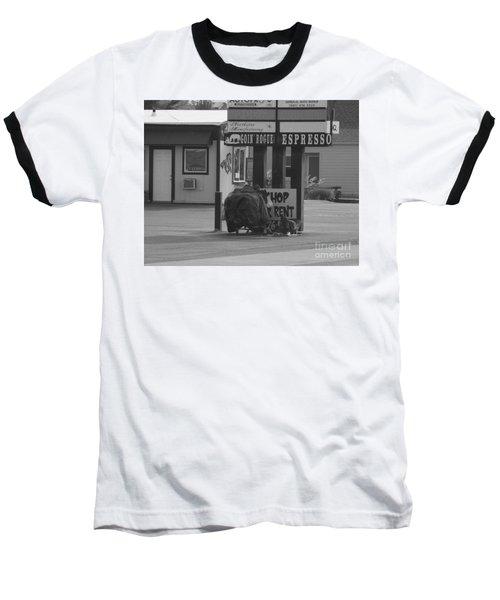 Homeless Hoarder Baseball T-Shirt