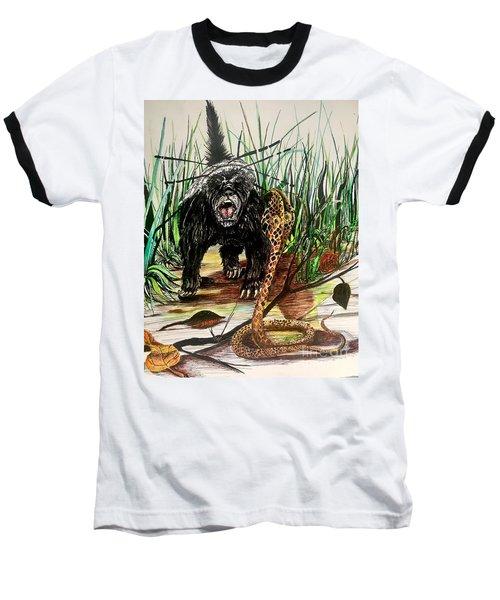 Honey Badger Baseball T-Shirt