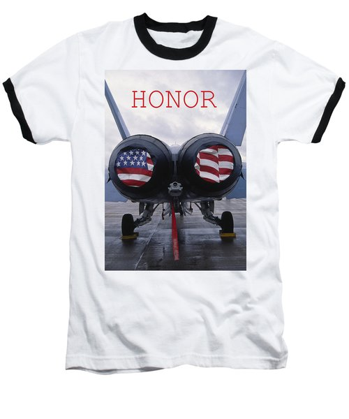 Honor Baseball T-Shirt